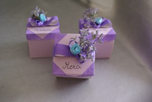 boîte à surprises pour le cadeau de fin d'année des maîtresses