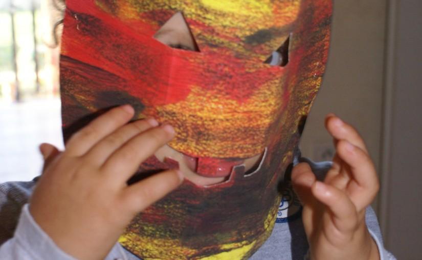 masque citrouille